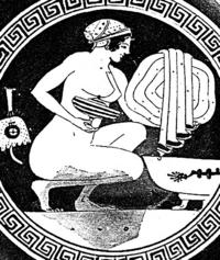 Aus: M. Dayagi-Mendels, Perfumes and Cosmetics in the Ancient World (Israel Museum Catalogue 305), Jerusalem 1989, 32