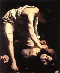 Abb. 2 David tötet Goliat (Caravaggio; 1599).