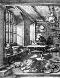 Abb. 2 Hieronymus (Albrecht Dürer; 1514).