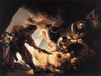 Abb. 2 Simsons Kraft (Rembrandt; 1636)