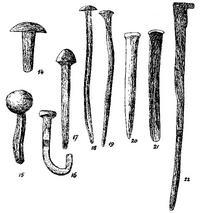 Aus: R.A.S. Macalister, The Excavation of Gezer 1902-1905 and 1907-1909, Bd. 3, London 1912, Pl. CXCIV, 14-22 (vgl. Bd. 2, 245-247)