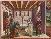 Aus: Martin Luther, Biblia Das ist: Die gantze heilige Schrifft Deudsch, Hans Krafft, Wittenberg 1572, S. 197. © Württembergische Landesbibliothek Stuttgart, lizenziert unter CreativeCommons-Lizenz cc-by-sa; Zugriff 7.4.2015