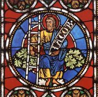 """Abb. 3 """"Jacob"""" mit einer """"Wurzel Jesse"""" (Freiburger Münster; ca. 1218)."""