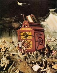 Abb. 3 Die Flut (Hans Baldung; 1516).