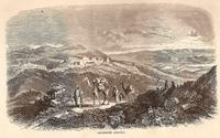Aus: W.M. Thomson, The Land and the Book; or Biblical Illustrations Drawn from the Manners and Customs, the Scenes and Scenery of the Holy Land, Vol. II, New York 1859, 549