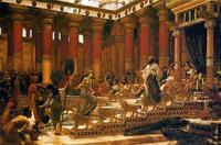Abb. 16 Besuch der Königin von Saba bei Salomo (Gemälde von Edward J. Poynter, 1890).