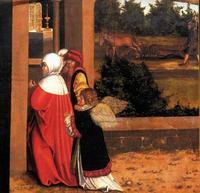Abb. 5 Das 3. Gebot (Gemälde von Lucas Cranach; Detail von Abb. 2).
