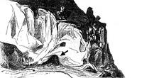 Zeichnung aus: H.B. Rawnsley, The Rock of the Pomegranate, PEFQSt 11 (1879), 118-126, Abb. 2