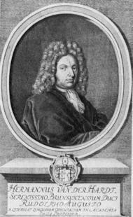Aus: Hans Haase, Die Universität Helmstedt 1576-1810. Bilder aus ihrer Geschichte, Jacobi-Verlag Bremen / Wolfenbüttel 1976, 85