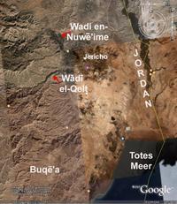 © Google Earth (Zugriff 20.11.2007); Beschriftung Klaus Koenen