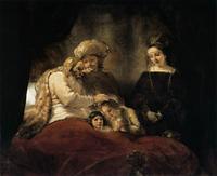 Abb. 9 Jakob segnet die Josefssöhne (Rembrandt van Rijn; 1656).