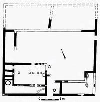 Aus: D. Amit / Z. Ilan / A. Mazar, Hurvat Shilhah: An Iron Age Site in the Judean Desert, in: J.D. Seger (Hg.), Retrieving the Past (FS G.W. Van Beek), Winona Lake 1996, 193-211, 196 (bearbeitet von Klaus Koenen)