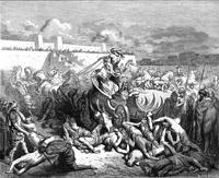 Abb. 3 Sieg Davids über die Ammoniter (Gustave Doré, 1866).