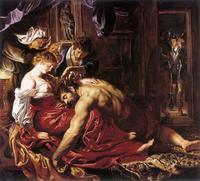 Abb. 5 Simson und Delila (Peter Paul Rubens; 1591-1666)