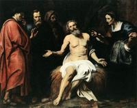 Abb. 6 Hiob und seine Freunde (Hercules Seghers; ca. 1590-1638).