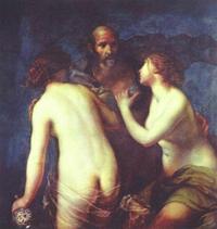 Abb. 3 Lot und seine Töchter (Francesco Furini; 1640).