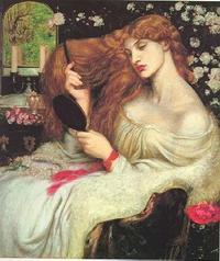Abb. 3 Lady Lilith (Dante Gabriel Rossetti; 1828-1882).