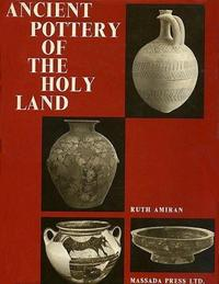 Abb. 2 Ruth Amiran (Hg.), Ancient Pottery of the Holy Land (Cover).