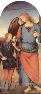 Abb. 1 Tobias und Rafael (Pietro Perugino; um 1500).