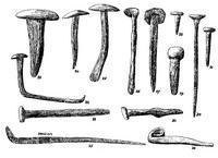Aus: R.A.S. Macalister, The Excavation of Gezer 1902-1905 and 1907-1909, Bd. 3, London 1912, Pl. CXCIV, 23-36 (vgl. Bd. 2, 245-247)