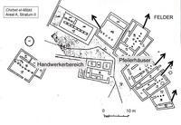 Aus: Jericke 1997, 193 Fig. 28; © Deutscher Verein zur Erforschung Palästinas / Detlef Jericke