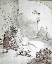 Abb. 5 Jona vor den Mauern von Ninive (Rembrandt; 1654/55).