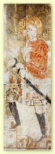 Abb. 6 Jeftah (Fresko im Katharinenkloster auf dem Sinai; 6. Jh.).