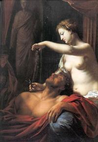 Abb. 4 Delila täuscht Simson (Adriaen van der Werff; 1659-1712)