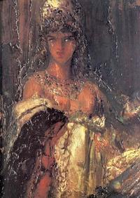 Abb. 1 Delila (Gustave Moreau; 1826-1898)