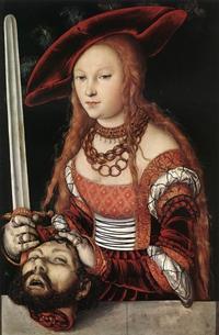 Abb. 8 Judit hat Holofernes getötet (Lukas Cranach d. Ä.; ca. 1530).