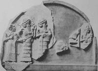 Aus: H. Gressmann, Altorientalische Bilder zum Alten Testament, Berlin / Leipzig 2. Aufl. 1927, Abb. Nr. 47