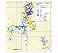 Abb. 10 Oberstadt. Schematischer Plan der Bauschichten des 3. bis 2. Jt.s v. Chr.