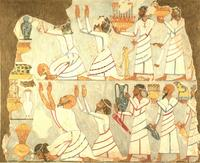 Aus: N.M. Davies / A.H. Gardiner, Ancient Egyptian Paintings, Bd. I, Chicago 1937, Pl. 42