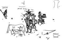 Aus: O. Keel / Chr. Uehlinger, Götter, Göttinnen und Gottessymbole (QD 134), Freiburg, 5. Aufl. 2001, Abb. 220; © Stiftung BIBEL+ORIENT, Freiburg / Schweiz