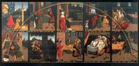 Abb. 2 Die Zehn Gebote; Gemälde von Lucas Cranach, geschaffen für die Gerichtsstube im Rathaus zu Wittenberg (1516; heute im Refektorium des Lutherhauses).
