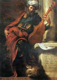 Abb. 7 Der Prophet David (Camillo Boccaccino, 1530).