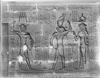 Aus: É. Chassinat, Le temple d'Edfou XIII, Kairo, 1934, pl. DXIII
