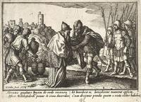 Abb. 2 Abraham und Melchisedek (Wenzel Hollar, 1607-1677).