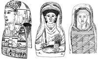Aus: W.M. Flinders Petrie Hawara, Biahmu, and Arsinoe, London 1889, pl. IX