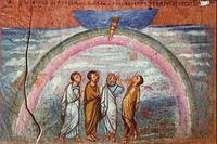 Abb. 6 Der Noah-Bund (Wiener Genesishandschrift; 6. Jh.).