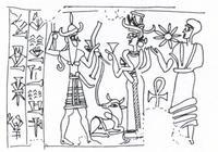 Aus: H. el-Safadi, Die Entstehung der syrischen Glyptik und ihre Entwicklung in der Zeit von Zimrilim bis Ammitaqumma, 1.Teil, UF 6, 313-352, Abb. 155