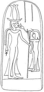 Aus: O. Keel / C. Uehlinger, Götter, Göttinnen und Gottessymbole (QD 134), Freiburg u.a. 5. Aufl. 2001, 117; © Stiftung BIBEL+ORIENT, Freiburg / Schweiz