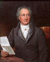 Abb. 1 Johann Wolfgang von Goethe (Ölgemälde von Joseph Karl Stieler; 1828).