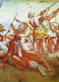Abb. 2 David und Goliat (Raffael, 1518/19)