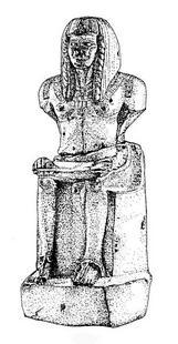 Aus: O. Keel / C. Uehlinger, Götter, Göttinnen und Gottessymbole (QD 134), Freiburg u.a. 5. Aufl. 2001, 120b; © Stiftung BIBEL+ORIENT, Freiburg / Schweiz
