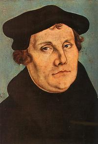 Abb. 1 Martin Luther (Lukas Cranach d.Ä.; 1529).