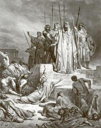 Abb. 7 Elisa im Krieg gegen die Aramäer (Gustave Doré, 19. Jh.).