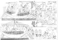 Aus: N. de G. Davies / R.O. Faulkner, A Syrian Trading Venture to Egypt, The Journal of Egyptian Archaeology 33 (1947), 40-46 (Tafel VIII)