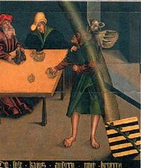 Abb. 12 Das 10. Gebot (Gemälde von Lucas Cranach; Detail von Abb. 2).