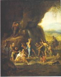 Abb. 1 Die Wasser von Meriba (Jan Steen; 17. Jh.).